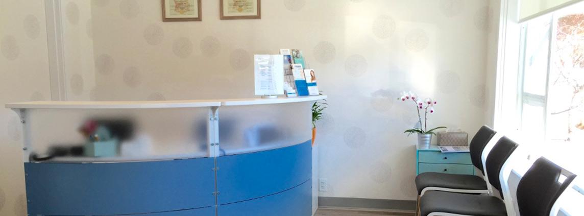 BlueWhite Health Waiting Room